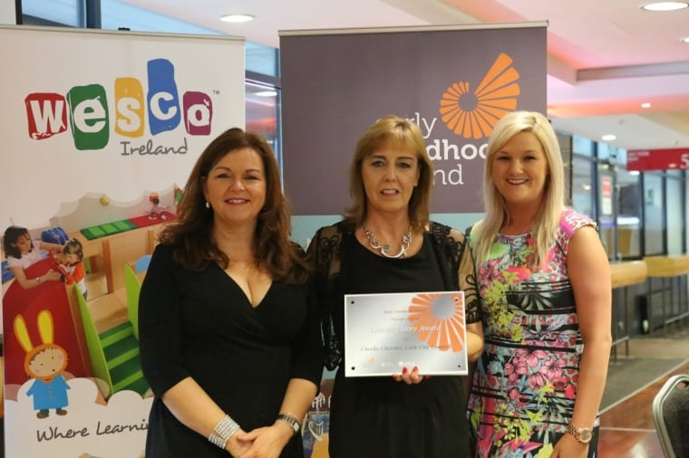 Michele Akerlind (Co-Director, Cheeky Cherubs), Mariesa Duignan (Early Years Education Policy Unit), Sara O'Donnell (Area Training Manager, Cheeky Cherubs).